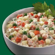 Amerikan Salatası Gerekli Malzemeler :   3 tane havuç 3 tane patates 250 gr. iç bezelye 8-...