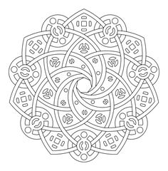 images of printable geometric coloring pages | download print and ...