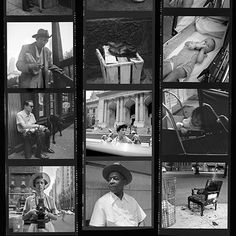 The official website of photographer Vivian Maier (her work was only discovered after she died. Documentary Finding Vivian Maier about her life and the dscovery of her work) Best Street Photographers, Great Photographers, Book Photography, Street Photography, Digital Photography, Vivian Maier Street Photographer, Contact Sheet, Chicago, Expositions