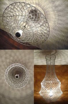 Paper Clip Chandelier by Re:Design Technologies
