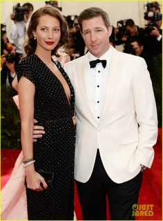 Edward Burns & Edward Norton Suit Up for the Met Ball 2014! | 2014 Met Ball, Christy Turlington Burns, Edward Burns, Edwarn Norton, Shauna Robertson Photos | Just Jared