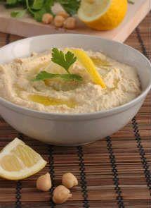 Receta de Hummus para Crock Pot