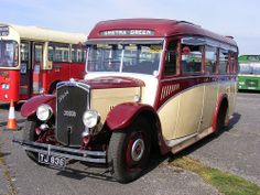 An early use of the Dennis Dart name is seen on at the Cobham Bus Museum's Annual Spring Bus & Coach Gathering, at Wisley Airfield, on April Buses And Trains, Bus Coach, Trucks, Busses, Commercial Vehicle, Vintage Coach, Public Transport, Motorhome, 1930s
