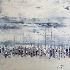 """Saatchi Art Artist jean-humbert savoldelli; Painting, """"COMME UN SILENCE"""" #art"""