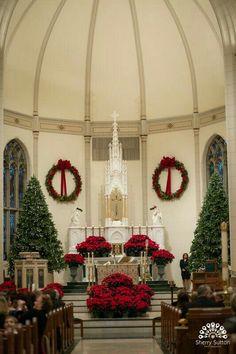 church altar decorations church christmas decorations holiday decor christmas flowers christmas 2017