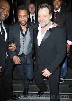 Russell Crowe and Cuba Gooding Jr