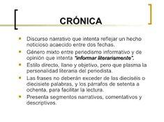 8 Mejores Imágenes De Crónica Periodistica Cronica Cómo