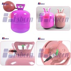 Helium gas tanks are mainly used for filling helium, has higher safety and operability.It is widely used for wedding, party and other activities to fill the balloon and toys to decorate.It is suitable for non-professional family and personal use. Helium Gas Cylinder, The Balloon, Tanks, Fill, Balloons, Safety, Activities, Glass, Wedding