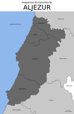 Freguesias do concelho de Aljezur