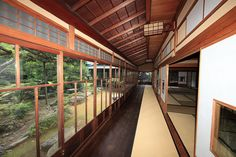 Japanese traditional style house interior design / 和風建築(わふうけんちく) by TANAKA Juuyoh (田中十洋), via Flickr