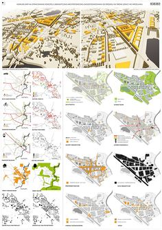 1st prize, Competition for new masterplan for Leśnica on Behance
