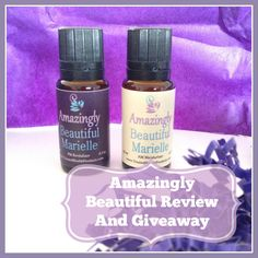 Check out my recent post! Amazingly Beautiful Review And Giveaway Open to US, Canada, Europe and Australia.