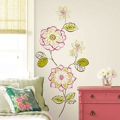 Home Tattoos (floral wall decals