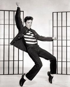 Elvis Presley - Jailhouse Rock - Promo Poster - Mini Print A