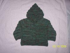Ravelry: Maui Hooded Baby Jacket pattern by Mosaic Yarn Studio