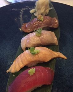 #niku #tataki #toro #aburi #saketoro #aburi #zuke #sushi #saltandpine #sushiporn #foodporn #instafood #drool #yummy #asseenincolumbus #columbusdining #fattytuna #salmonbelly #tuna by sungrok_oh
