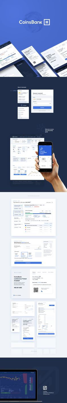 CoinsBank is a universal crypto-solution which provides services across the full range of blockchain services, from a secure wallet, fiat money gateways, and cash cards to trading exchanges, charts, and merchant tools – all accessible from a dedicated mob…