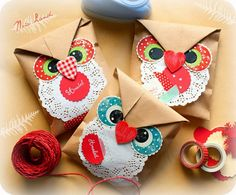 Noia Land: Ideas para empaquetar: Imprimible búhos