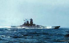 Battleship Yamato colored by tr4br.deviantart.com on @deviantART