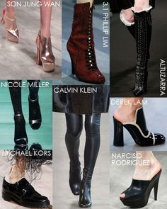 New York Fashion Week Fall 15 Shoe Trends