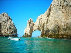 Cabo San Lucas Mexico. been here so beautiful sometimes the water is low enough that you can walk under the rock arch