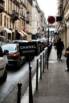 CHANEL Voiturier ( Valet Parking)  - love it!