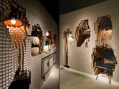 Diesel Shibuya store installation by Yoshimasa Tsutsumi, Tokyo