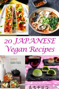 Round Up of 20 Tasty Japanese Vegan Recipes!      |     Organize your favourite recipes on your iPhone or iPad with @RecipeTin! Find out more here: www.recipetinapp.com      #recipes #japanese #vegan