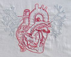 heart > detail by XO Stitches, via Flickr