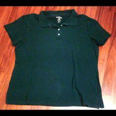 Collard t-shirt Green collard t-shirt  Great condition  No flaws  Size XXL Tops Tees - Short Sleeve