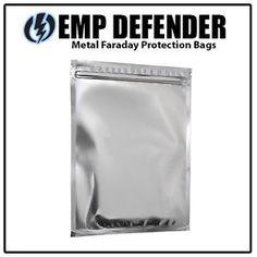Faraday Cage ESD EMP Bags 10 Piece Prepper Survivalist Kit   eBay