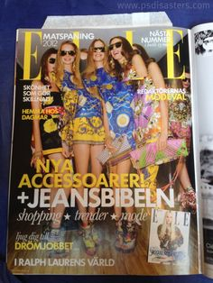 The efforts of Elle mag to double their franchise may have gone a bit too far... (via photoshop disasters)