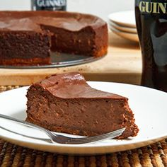 What a fabulous dessert for someone who loves Guinness and chocolate! As an added bonus, it's easy to make.
