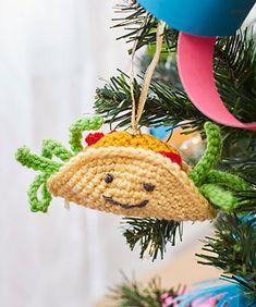 Ravelry: Tasty Taco Ornament pattern by Michele Wilcox