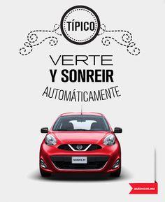 A veces el amor va sobre ruedas. #Autocom #Nissan #March #love