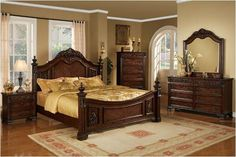 Master bedroom furniture set THIS IS THE SET I WANT AND COLOR FOR MY ROOM!!!