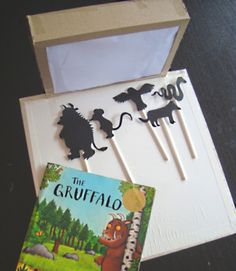mousehouse: DIY shadow puppet theatre - use for Gruffalo's child and explore sha. - - mousehouse: DIY shadow puppet theatre – use for Gruffalo's child and explore shadows as per book Gruffalo Activities, Preschool Activities, Activities For Kids, Shadow Theatre, Puppet Theatre, Drama Theatre, Diy For Kids, Crafts For Kids, Gruffalo's Child