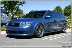 a4 b6 avant denim blue black doorblades