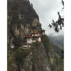 Taktsang temple (tiger's nest) is the holiest and the most sacred temple complex in Bhutan!!!