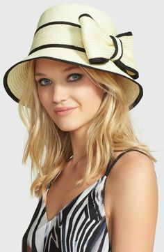 4e7c52112849d Kate Spade Fancy Bow Hat - Spring Hats - Extraordinary Fashion Blog Fancy  Bows