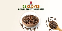 Cloves Benefits: 21 Health benefits of Cloves + 8 Uses - 7pranayama.com Cloves Health Benefits, Health Smoothie Recipes, Healthy Liver, Healing Herbs, How To Relieve Stress, Dog Food Recipes, Natural Remedies, Health Tips, Herbalism