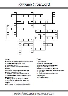 Sociology study crossword puzzle education pinterest career test your knowledge of ancient egypt with this great clue crossword puzzle it comes with ccuart Gallery