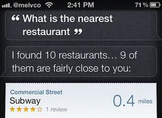 Discover places abroad with International Locations for Siri