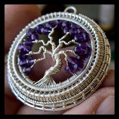 tree of life pendant created by Lonely Soldier Designs