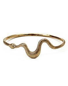 lucky brand serpent bangle