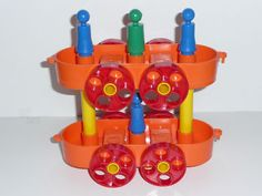 Tupperware toys train celebrity