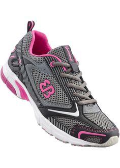 Laufschuh von Brütting grau/schwarz/pink jetzt im Online Shop von bonprix.de ab ? 29,99 bestellen. Sportlich und aktiv, zum Schnüren, Brütting, ...
