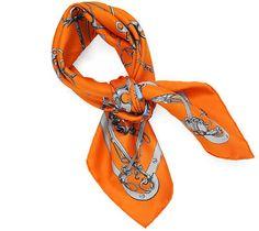 classic Hermès scarf