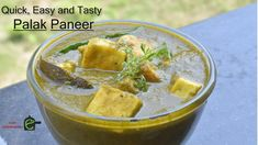 How to Make Quick and Easy Palak Paneer   Spinach and Cottage Cheese Rec...