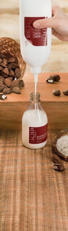 Repuesto de pulpa hidratante para el cuerpo. Hidratación nutritiva  Ekos Castaña. 400 ml S/. 25 Precio de catalogo: S/.43